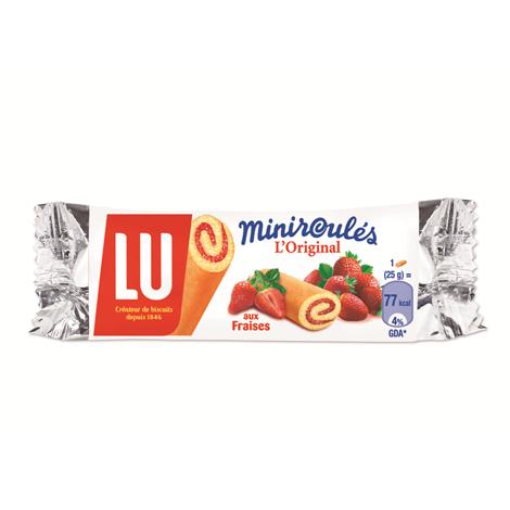 Biscuits - Gateaux - LU Miniroulé aux Fraises x180 Alt Mondelez Pro