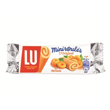 Biscuits - Gateaux - LU Miniroulé aux Abricots x180 Alt Mondelez Pro