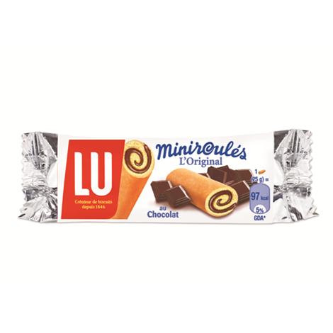 Biscuits - Gateaux - LU Miniroulé Chocolat x180 Alt Mondelez Pro