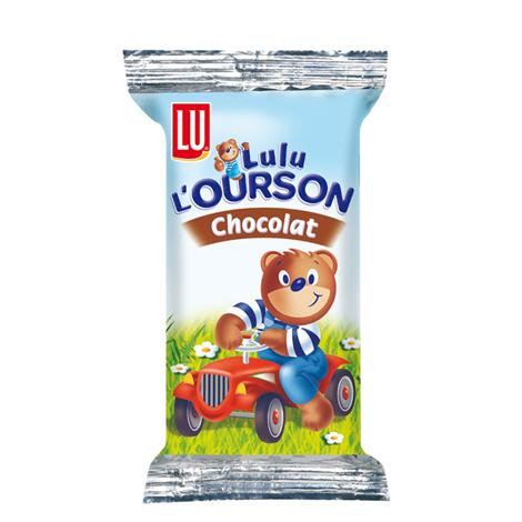 Biscuits - Gateaux - LU LULU l'Ourson chocolat 30g x48 Alt Mondelez Pro