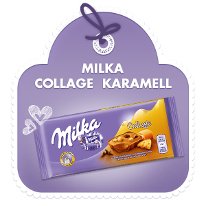 Milka Collage Karamell