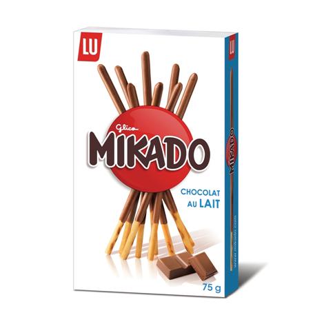 Biscuits - Gateaux - Mikado chocolat au lait 75g Alt Mondelez Pro