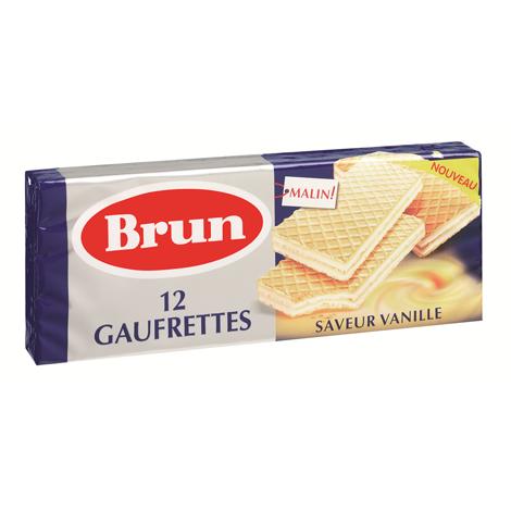 biscuits gateaux Brun Gaufrette saveur vanille Alt Mondelez Pro