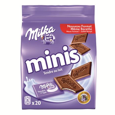 Chocolat - Milka mini Lait 20x10g Alt Mondelez Pro