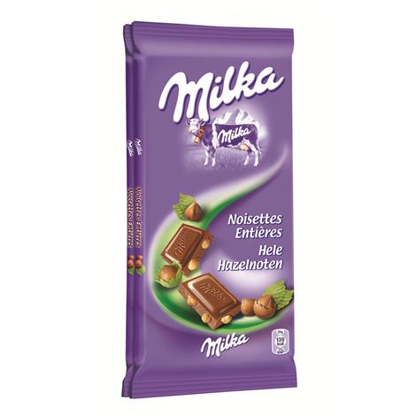 Chocolat - Milka lait noisettes 2x100g Alt Mondelez Pro