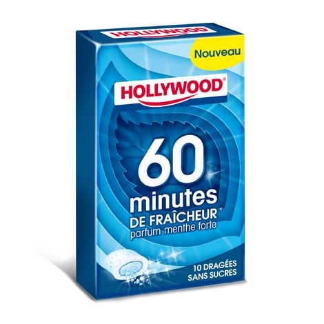 Chewing-gum - Hollywood 60 minutes de fraîcheur menthe forte Alt Mondelez Pro
