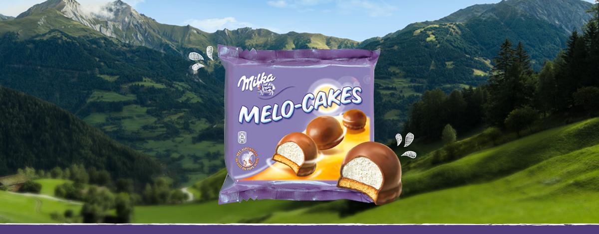MELO-CAKES MILKA