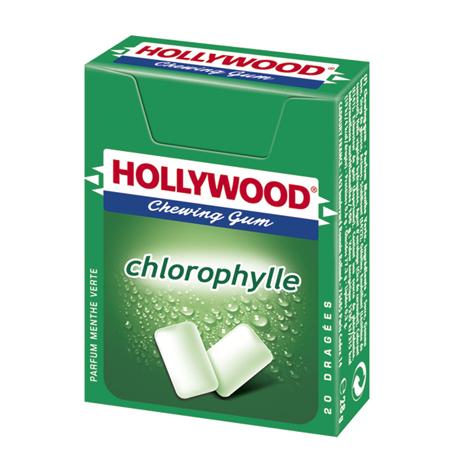 Chewing-gum - Hollywood Chlorophylle sans aspartame Alt Mondelez Pro