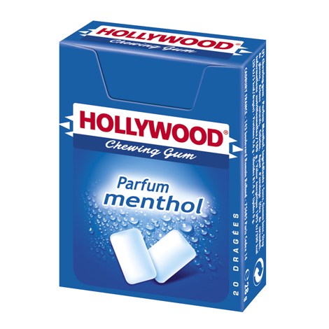 Chewing-gum - Hollywood parfum menthol Alt Mondelez Pro