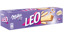 MILKA LEO WITTE CHOCOLADE