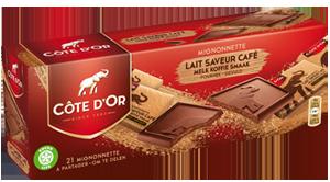 Mignonnette fourrée Lait Saveur Café