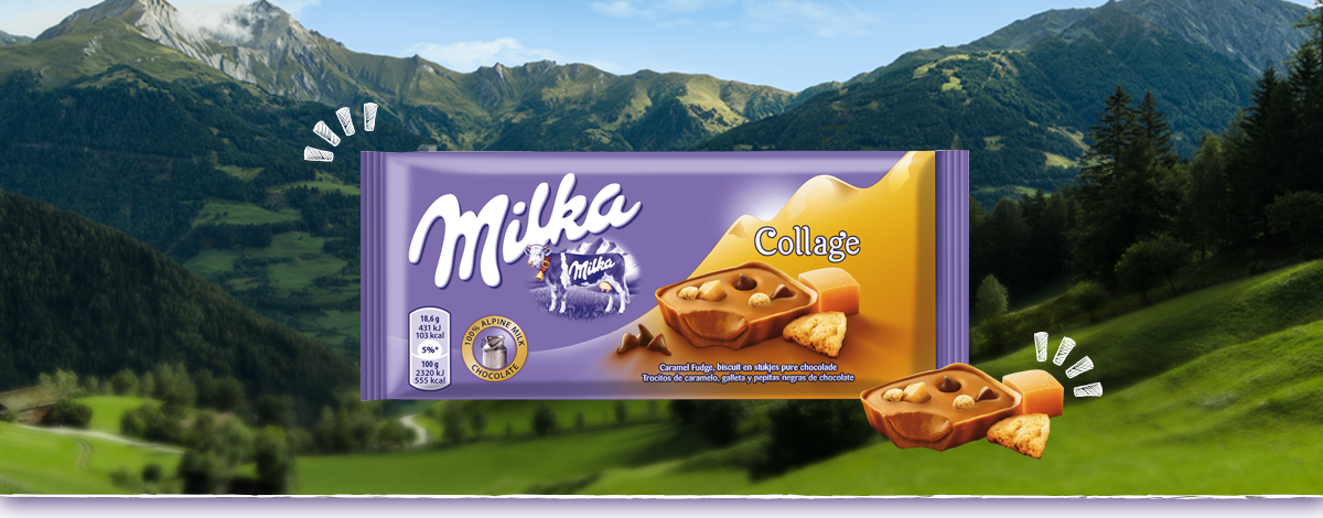 MILKA COLLAGE CARAMEL
