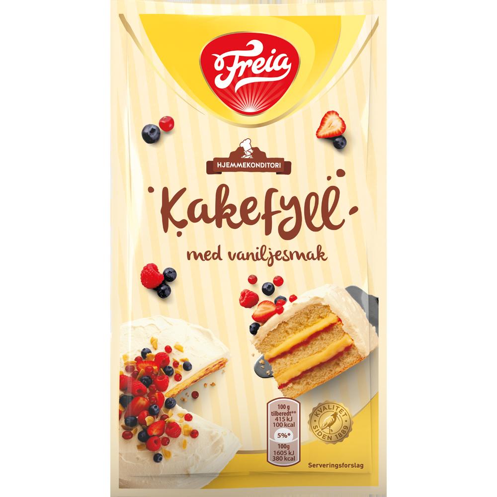 Freia Kakefyll Vanilje (80 g)