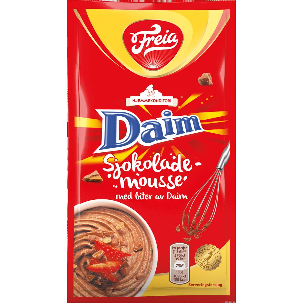 Freia Sjokolademousse Daim (100 g)