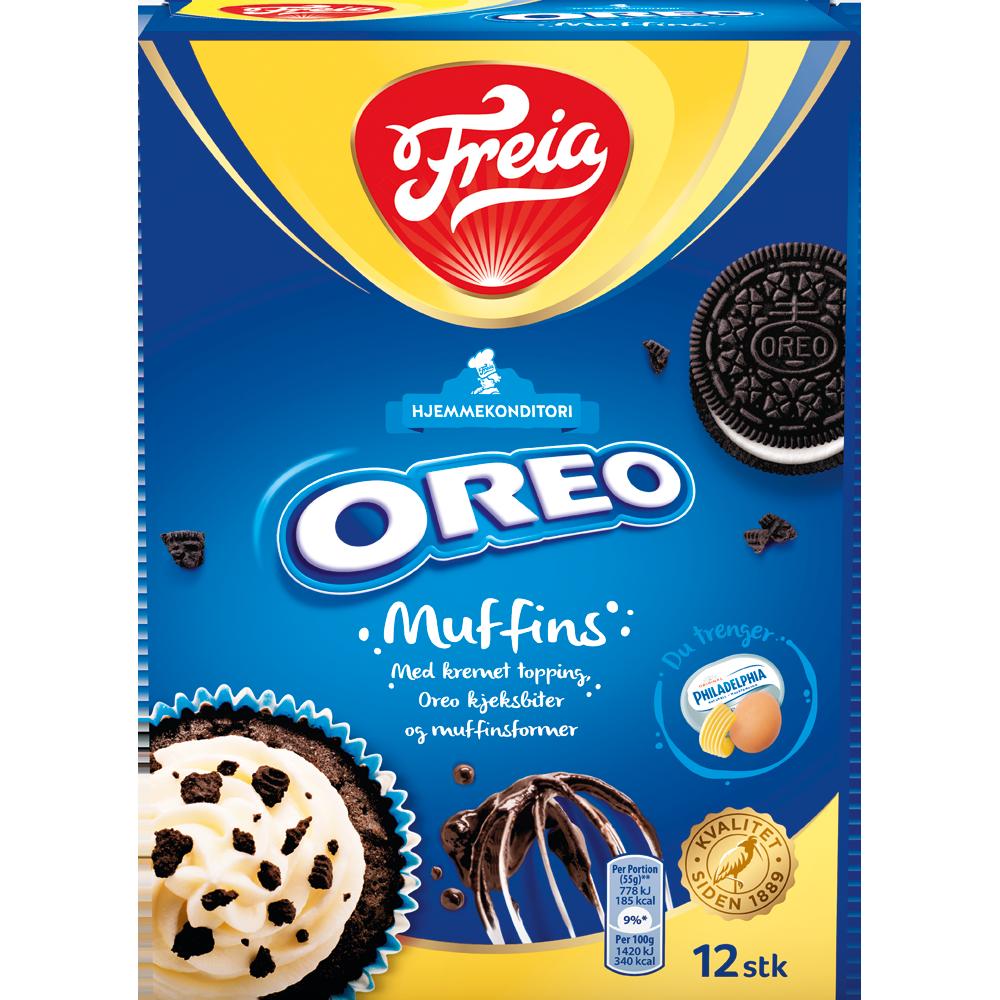Freia Oreo Muffins (280 g)