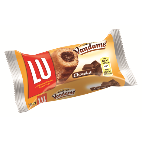 Biscuits - Gateaux - Vandame fourré chocolat à bords cannelés x168 Alt Mondelez Pro