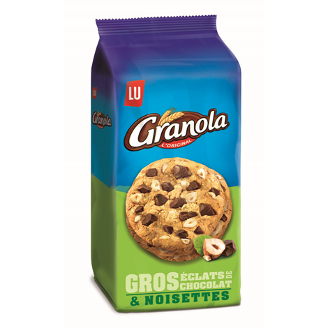Biscuits - Gateaux - Granola Extra Cookies chocolat et noisettes Alt Mondelez Pro