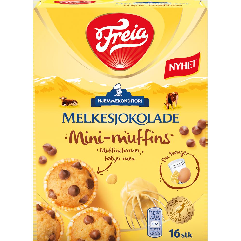 Freia Melkesjokolade Mini-muffins (240 g)