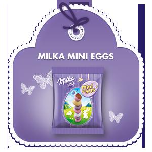 Milka Mini Eggs 100g