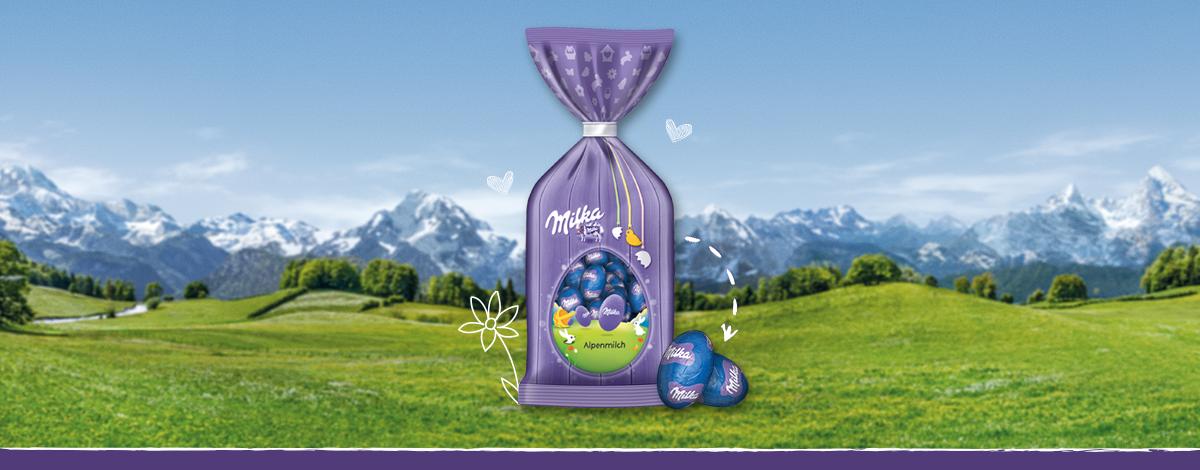 Milka Oster-Eier Alpenmilch 100g