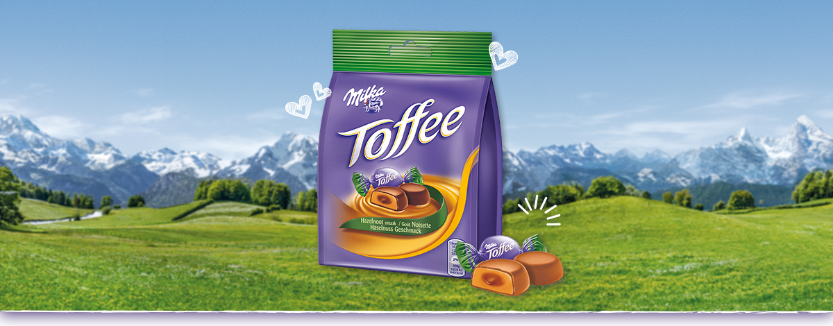 Milka Toffee Haselnuss
