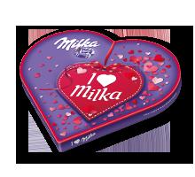 I love Milka Geschenkherz Valentin 187g