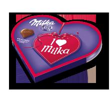 I love Milka Impulsherz 50g