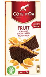 Chocolat Côte d'Or FRUIT Orange