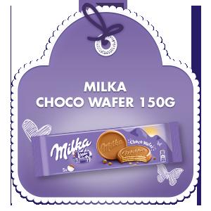 Milka Choco Wafer 150g