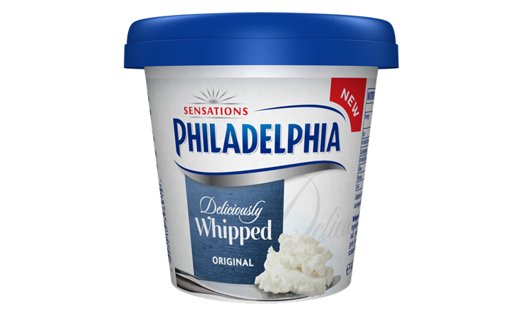 Philadelphia Deliciously Whipped Original 140g