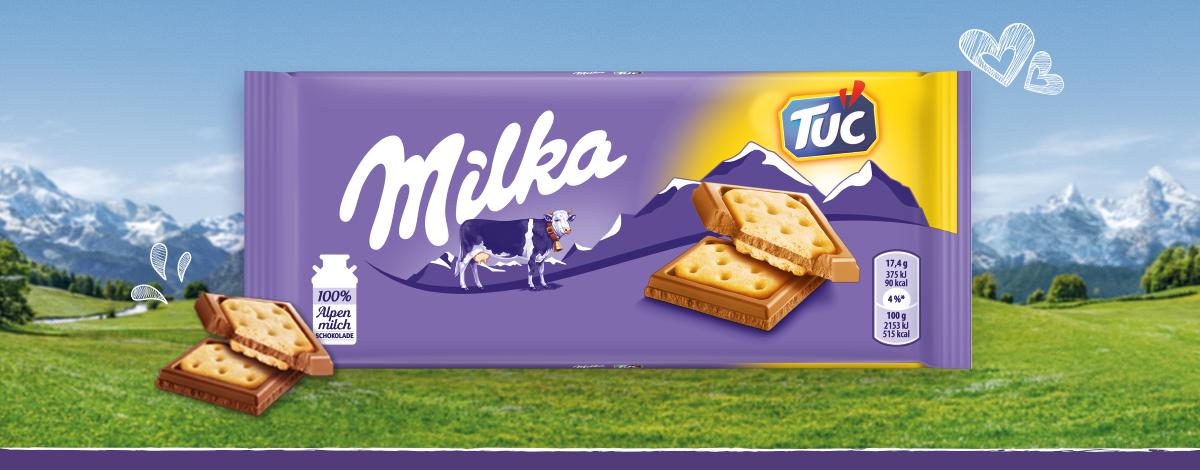 Milka & TUC Cracker