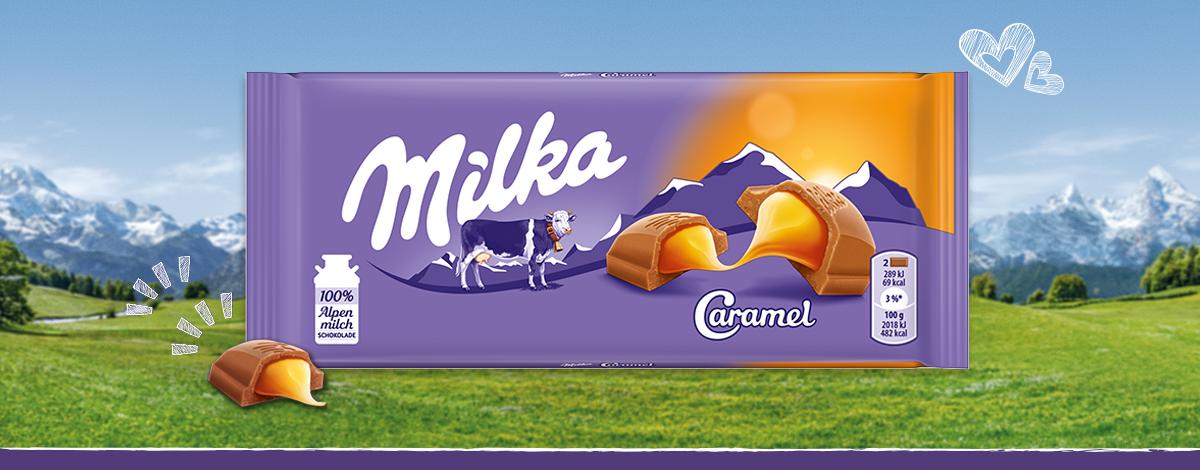 Milka Caramel