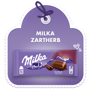 Zartherbe Alpenmilch Schokolade