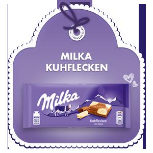 Milka Kuhflecken
