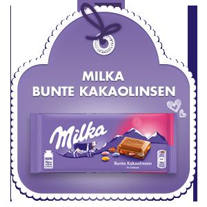 Milka Bunte Kakaolinsen