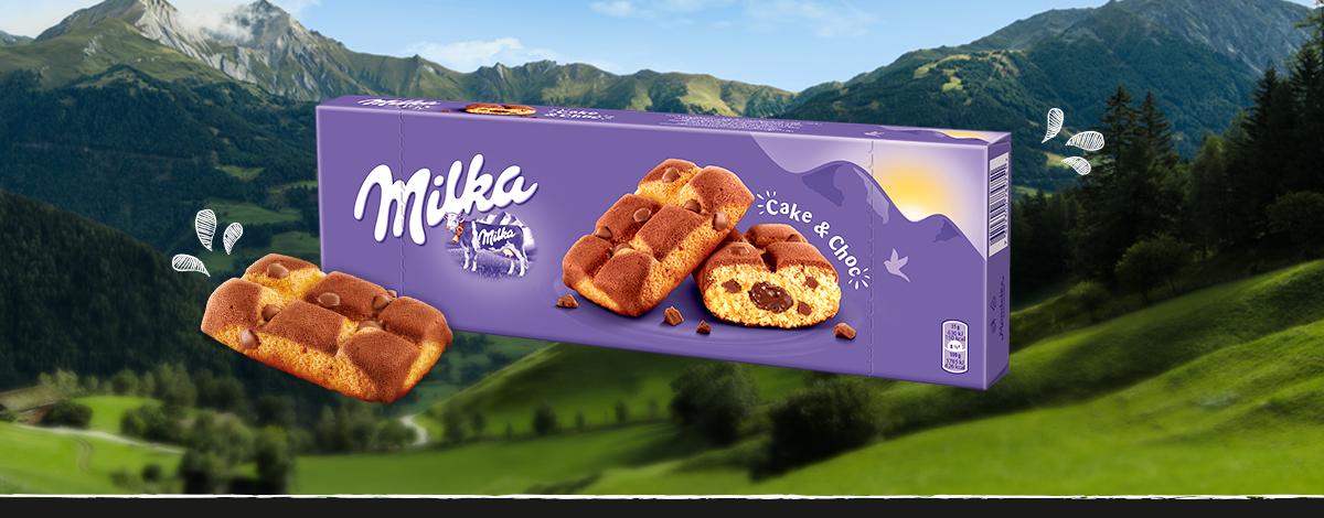 MILKA CAKE & CHOC 175 g