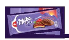 MILKA CHOCO JAFFA RASPBERRY JELLY 147 g