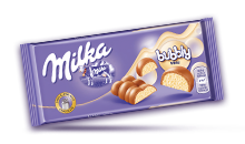 MILKA BUBBLY WHITE 95 g