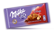 MILKA COLLAGE RASPBERRY 93 g