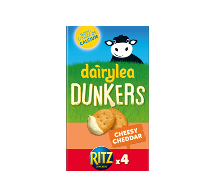 Dunkers Cheesy Cheddar