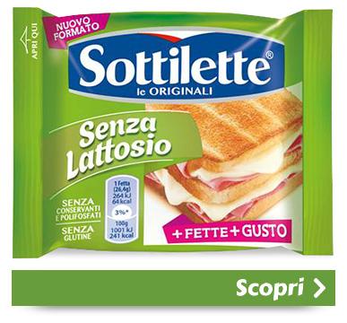 Sottilette<sup>®</sup> Senza Lattosio
