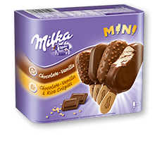 Milka Mini-Stieleis 6x50ml