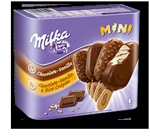 Milka Mini-Stieleis 6x50ml