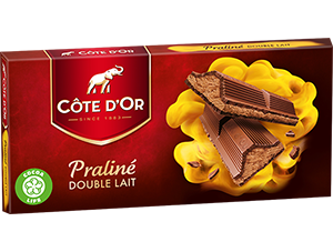 Chocolat Double Lait Côte d'Or