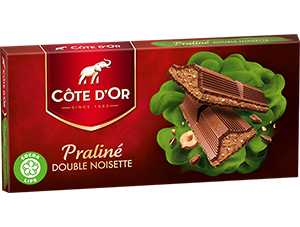 Chocolat Double Noisette Côte d'Or