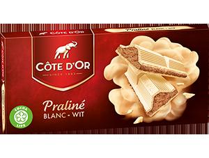 Chocolat Praliné Blanc Côte d'Or
