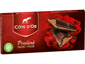 Chocolat Praliné Noir Côte d'Or