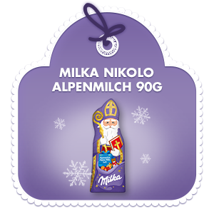 Milka Nikolo Alpenmilch 90g