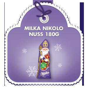 Milka Nikolo Nuss 180g