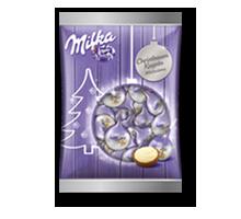 Milka Christbaum Kugeln Silber 90g
